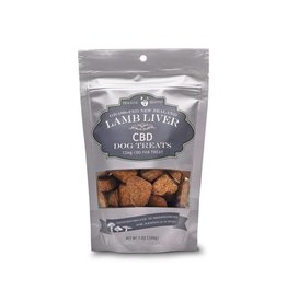 Holistic Hound Lamb Liver - CBD Dog Treats (7.5 mg 7.0 oz bag)