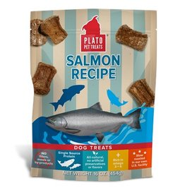 Plato Natural Salmon Strips, 6oz