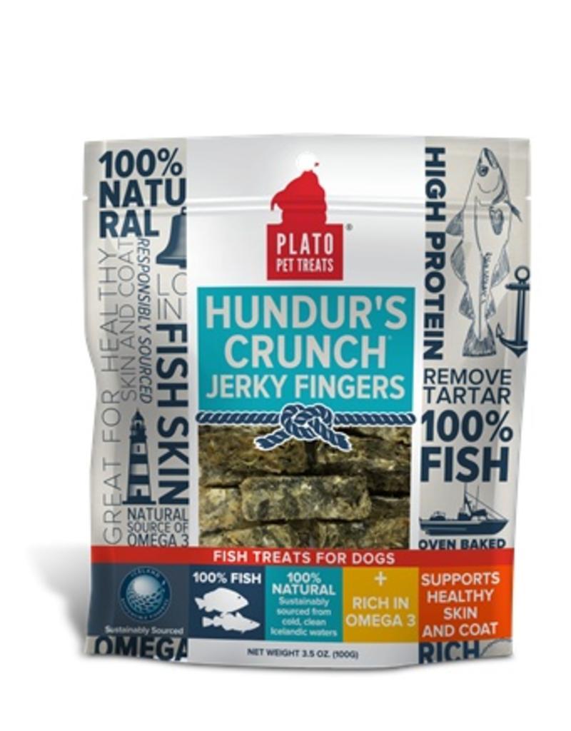 Plato Hundur's Crunch Jerky Fingers 3.5oz