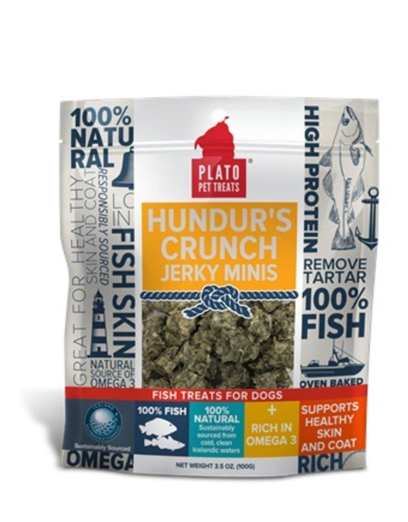 Plato Hundur's Crunch Jerky Minis 3.5oz