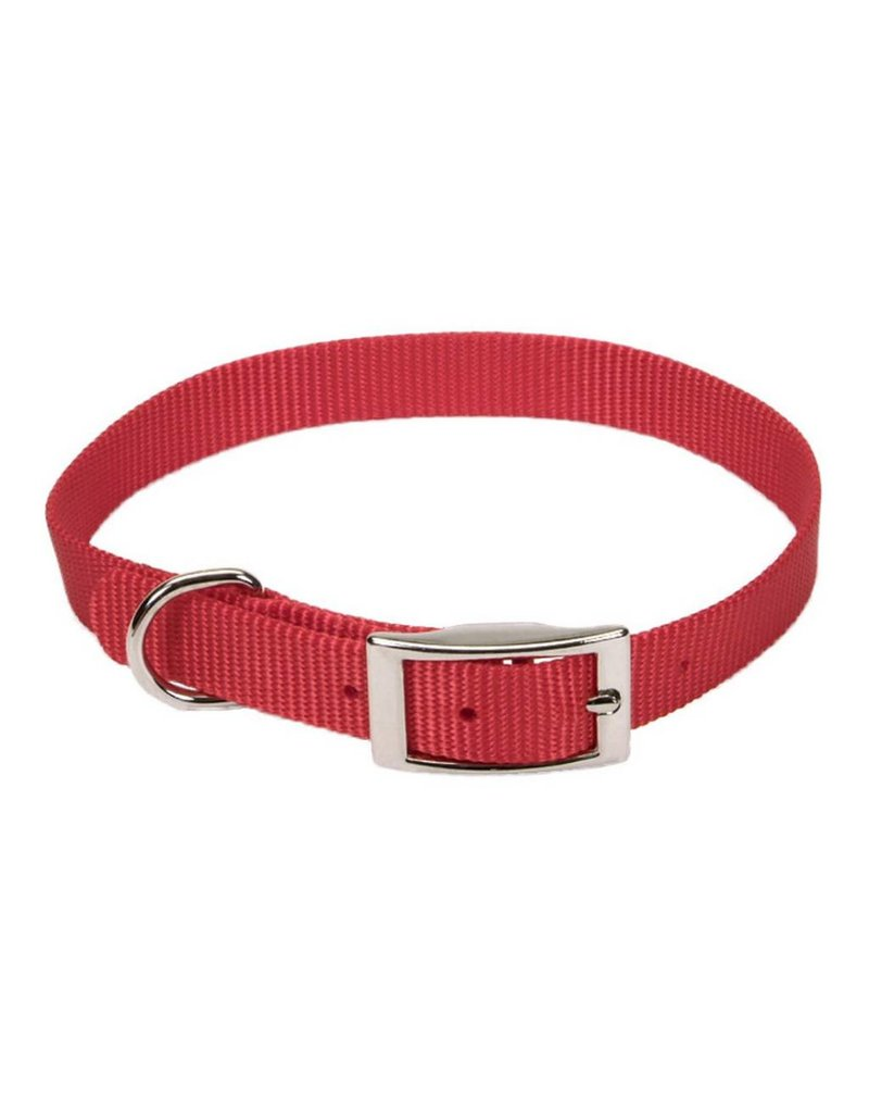 "Coastal Collar Red 5/8""W 16""L"