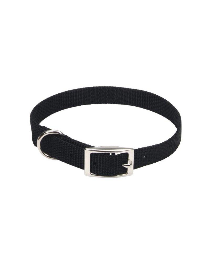 """Coastal Collar Black 3/4""""W 18""""L"""