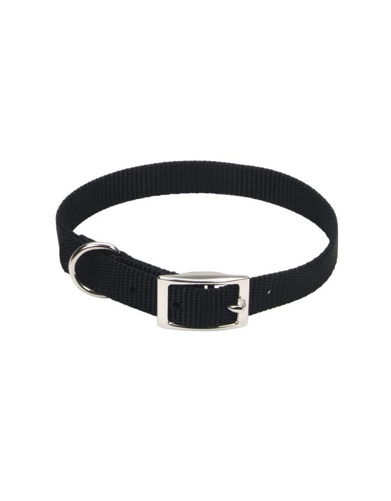 "Coastal Collar Black 1""W 18""L"