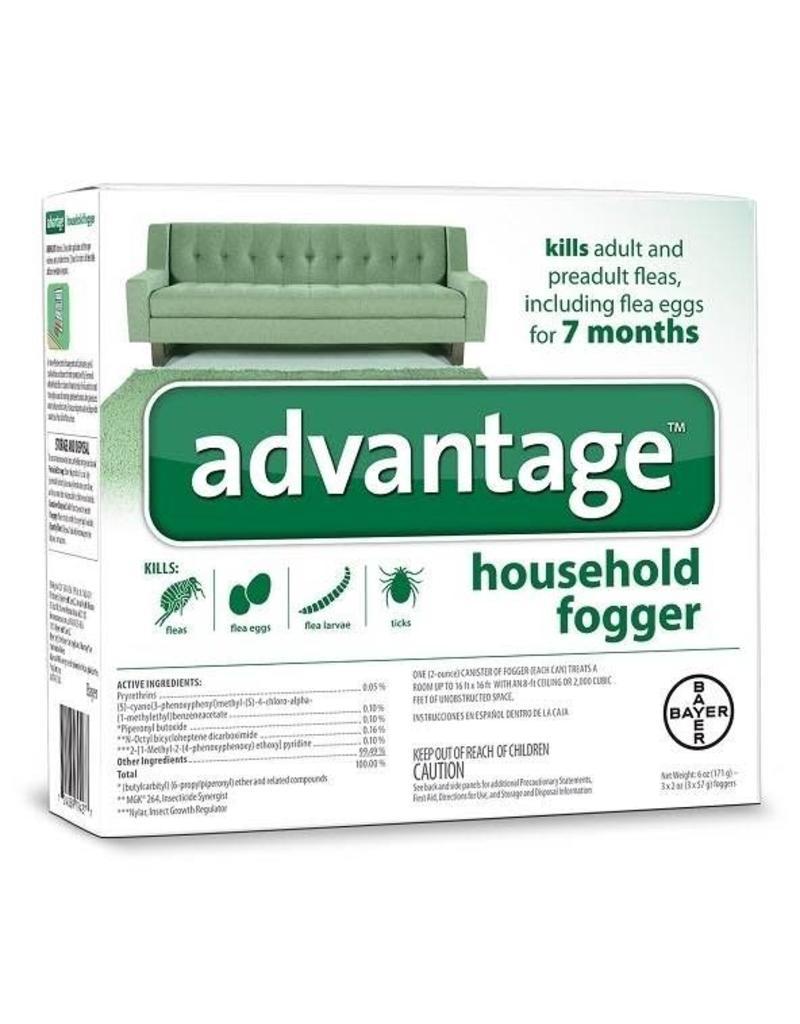 Bayer Advantage Household Fogger - 3pk