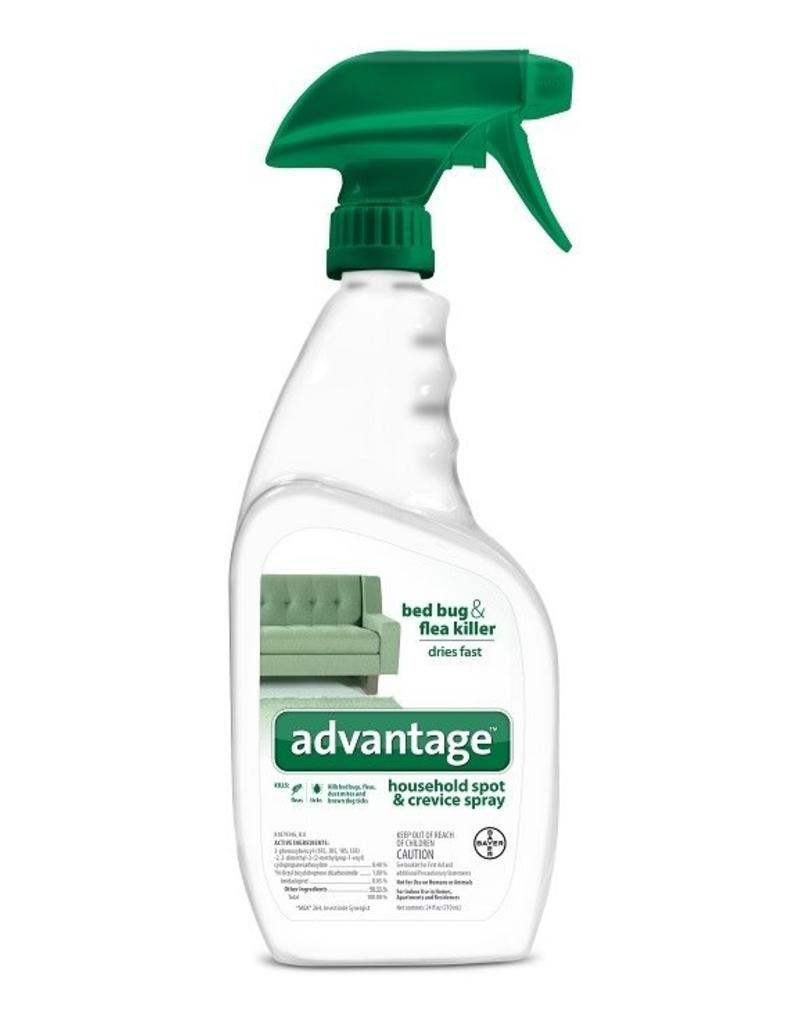 Bayer Advantage Spot & Crevice Spray - 24oz