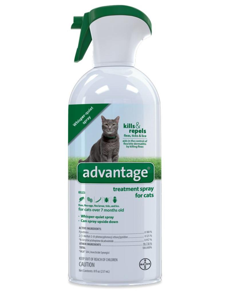 Bayer Advantage Flea & Tick Treatment Spray Cat - 8 oz