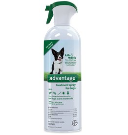 Bayer Advantage Flea & Tick Treatment Spray for Dogs - 8oz