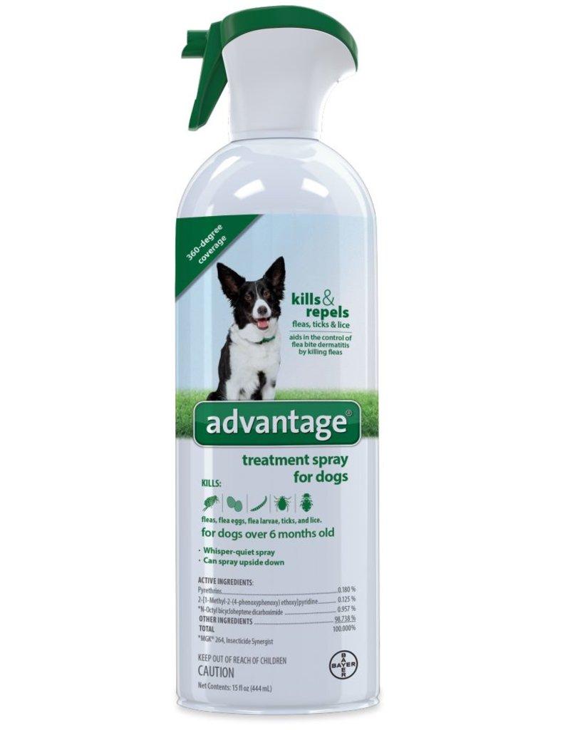 Bayer Advantage Flea & Tick Treatment Spray 15oz