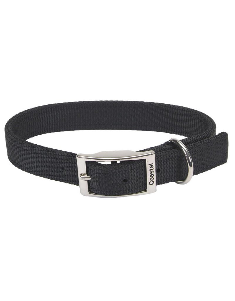 "Coastal Double-Ply Collar Black 1""W 22""L"