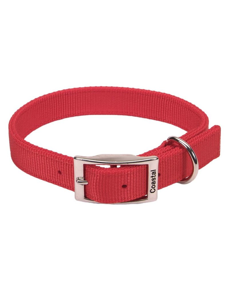 "Coastal Double-Ply Collar Red 1""W 22""L"