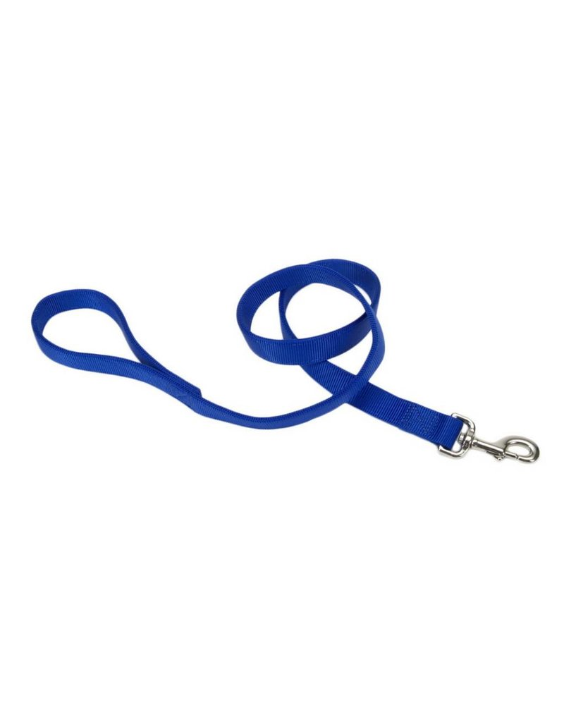 "Coastal Double-Ply Leash Blue 1""W 4'L"