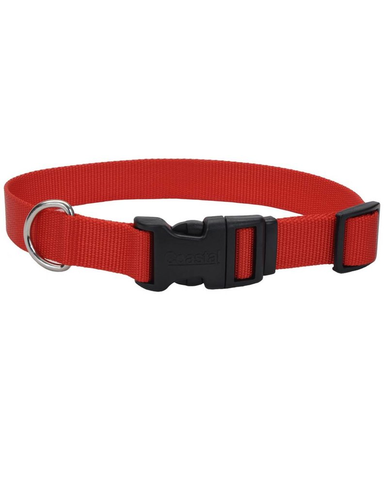"Coastal Tuff Collar Red 3/8""W 12""L"
