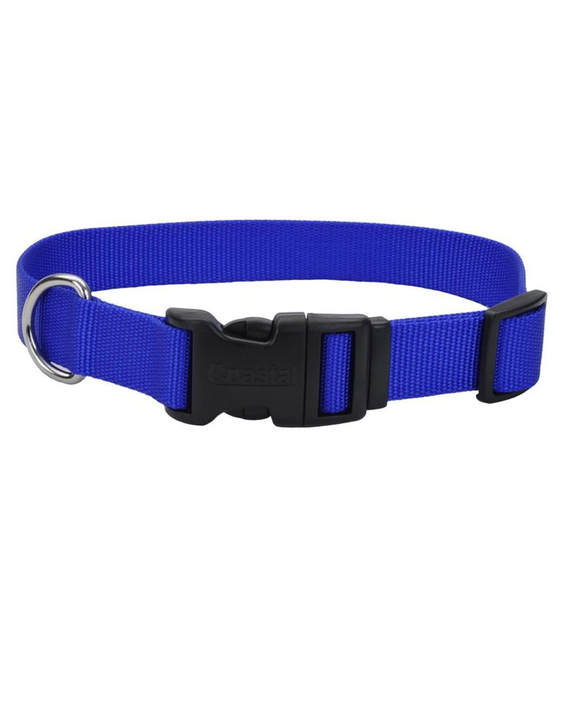 "Coastal Tuff Collar Blue 5/8""W 14""L"