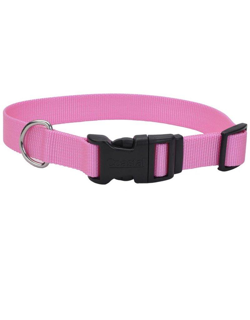 """Coastal Tuff Collar Pink 3/8""""W 14""""L"""