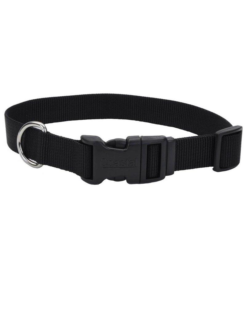 """Coastal Tuff Collar Black 3/4""""W 20""""L"""