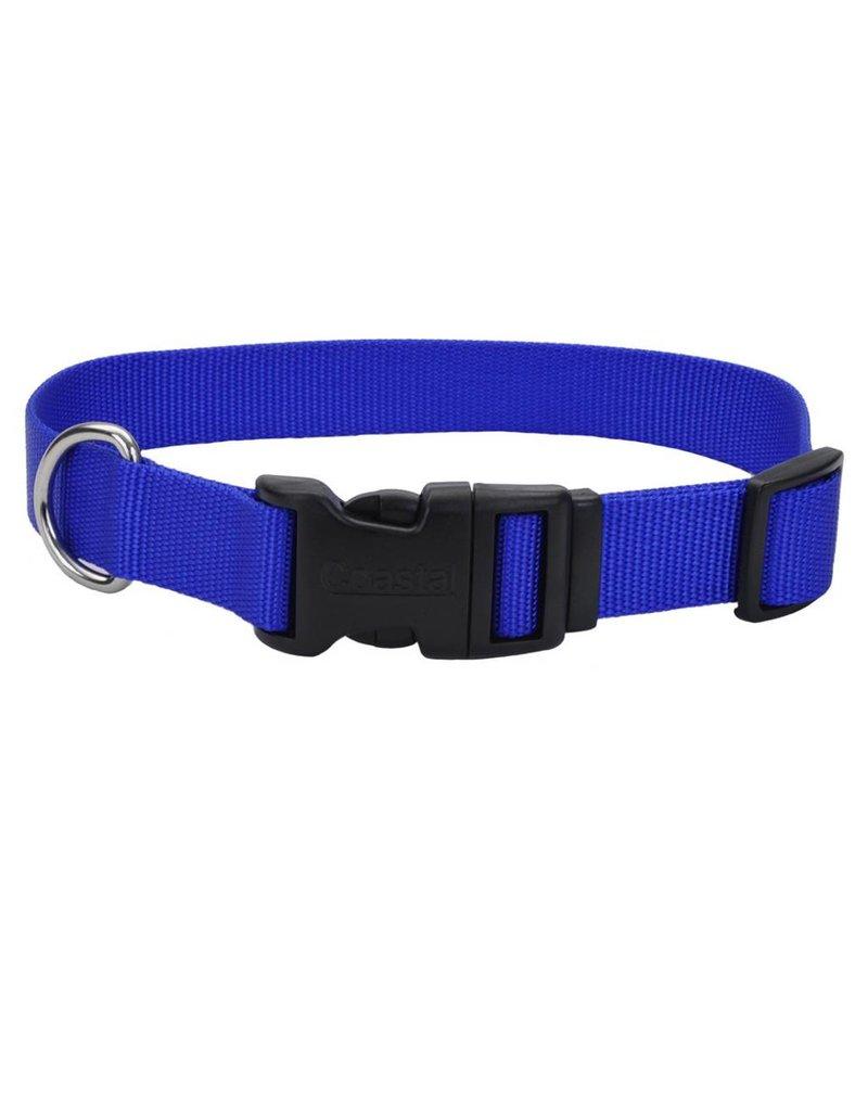 """Coastal Tuff Collar Blue 3/4""""W 20""""L"""