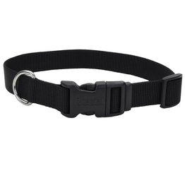 "Coastal 1"" Adjustable Collar Black 20"""