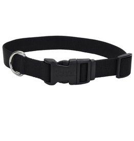 "Coastal 1"" Adjustable Collar Black 20"""