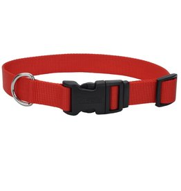 "Coastal 1"" Adjustable Collar Red 20"""