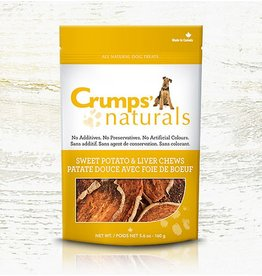 Crumps' Naturals Sweet Potato & Liver Chews 5.6oz