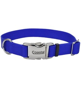 "Coastal 1"" Adjustable Metal Buckle Blue 26"""