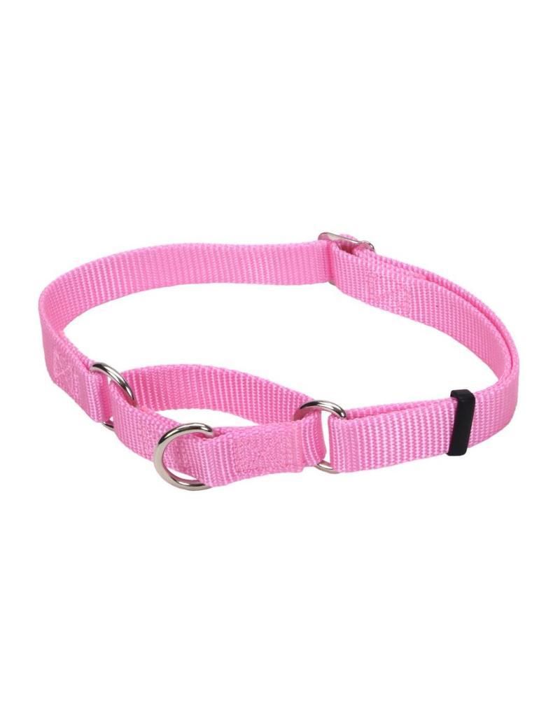 """Coastal Martingale Collar Pink 5/8""""W 14""""L"""
