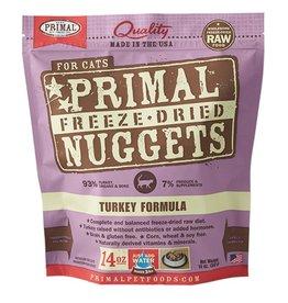Primal Pet Freeze-Dried Nuggets Turkey Formula 14oz