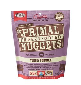 Primal Feline Freeze-Dried Raw Nuggets Turkey 5.5oz