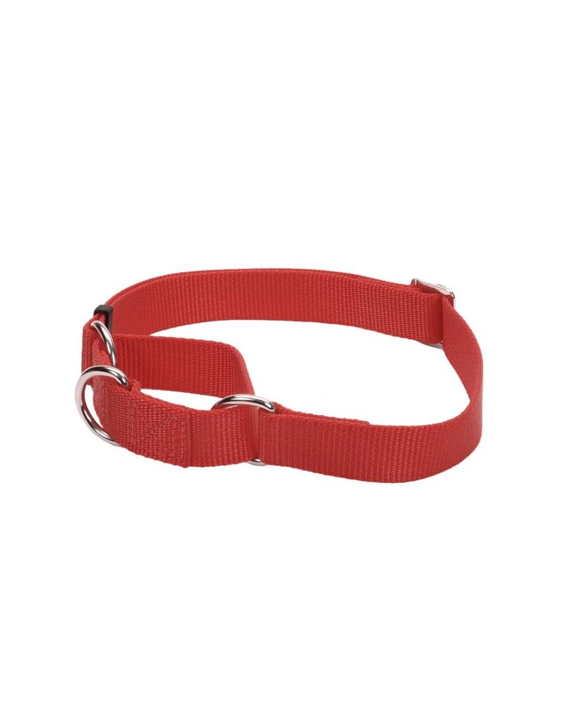 "Coastal Martingale Collar Red 3/4""W 20""L"