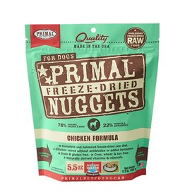 Primal Canine Freeze-Dried Raw Nuggets Chicken 5.5oz