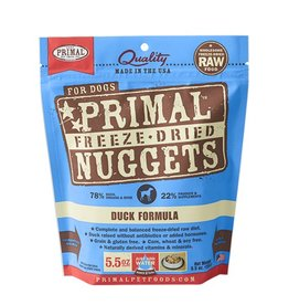 Primal Canine Freeze-Dried Raw Nuggets Duck 5.5oz