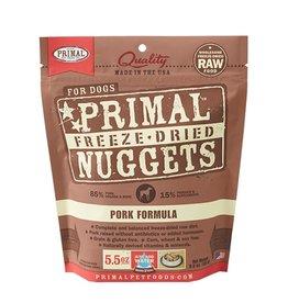 Primal Canine Freeze-Dried Raw Nuggets Pork 5.5oz