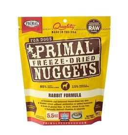 Primal Canine Freeze-Dried Raw Nuggets Rabbit 5.5oz