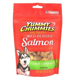 Yummy Chummies Crunchy Salmon Recipe Dog Treats 4oz