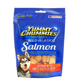 Yummy Chummies YUMMY Treat Salmon Sw Pot GF 4z