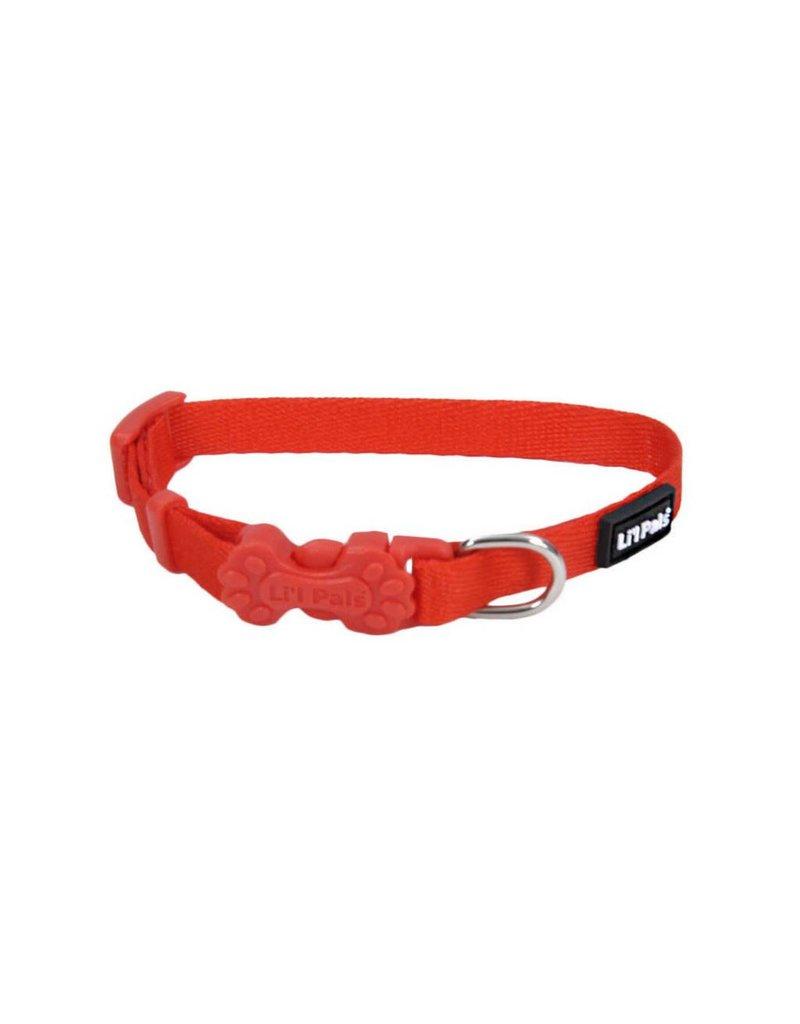 """Coastal Collar Red  5/16""""W 7""""L"""