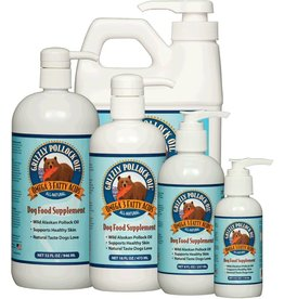 Grizzly Pet Products Wild Alaskan Pollock Oil 4oz