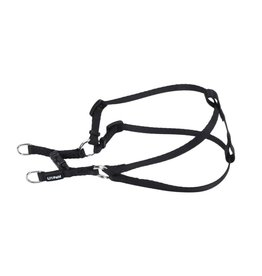 "Coastal 5/16"" Comfort Harness Black 14"""