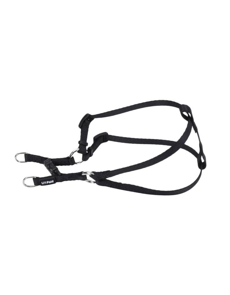 """Coastal Comfort Harness Black 5/16""""W 14""""L"""