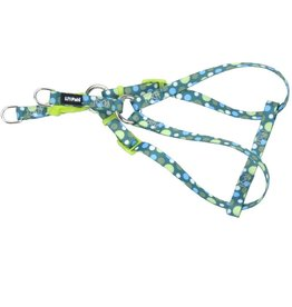 "Coastal 5/16"" Comfort Harness Green Dots 14"""