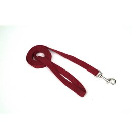 "Coastal 1"" Soy Leash Cranberry 6'"