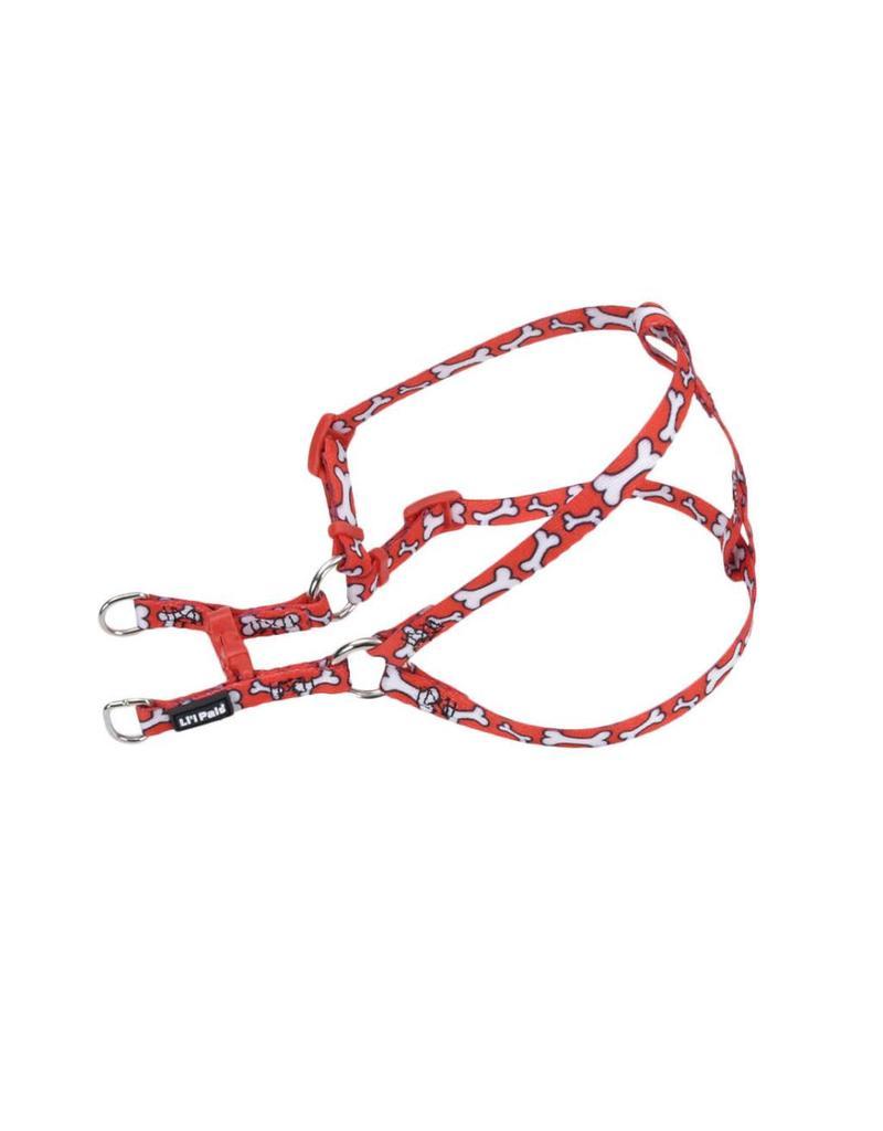 """Coastal Comfort Harness Red Bones 5/16""""W 14""""L"""