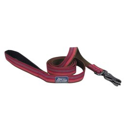 "Coastal 1"" Reflective Leash Berry 6'"
