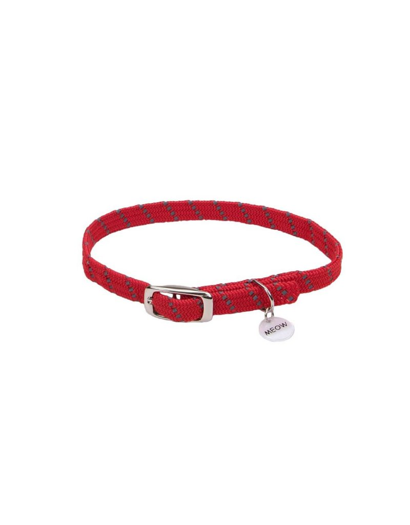"Coastal ElastaCat Collar Red 10""L"