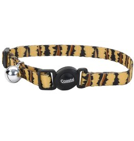 "Coastal Cat Collar Tiger 3/8""W 12""L"