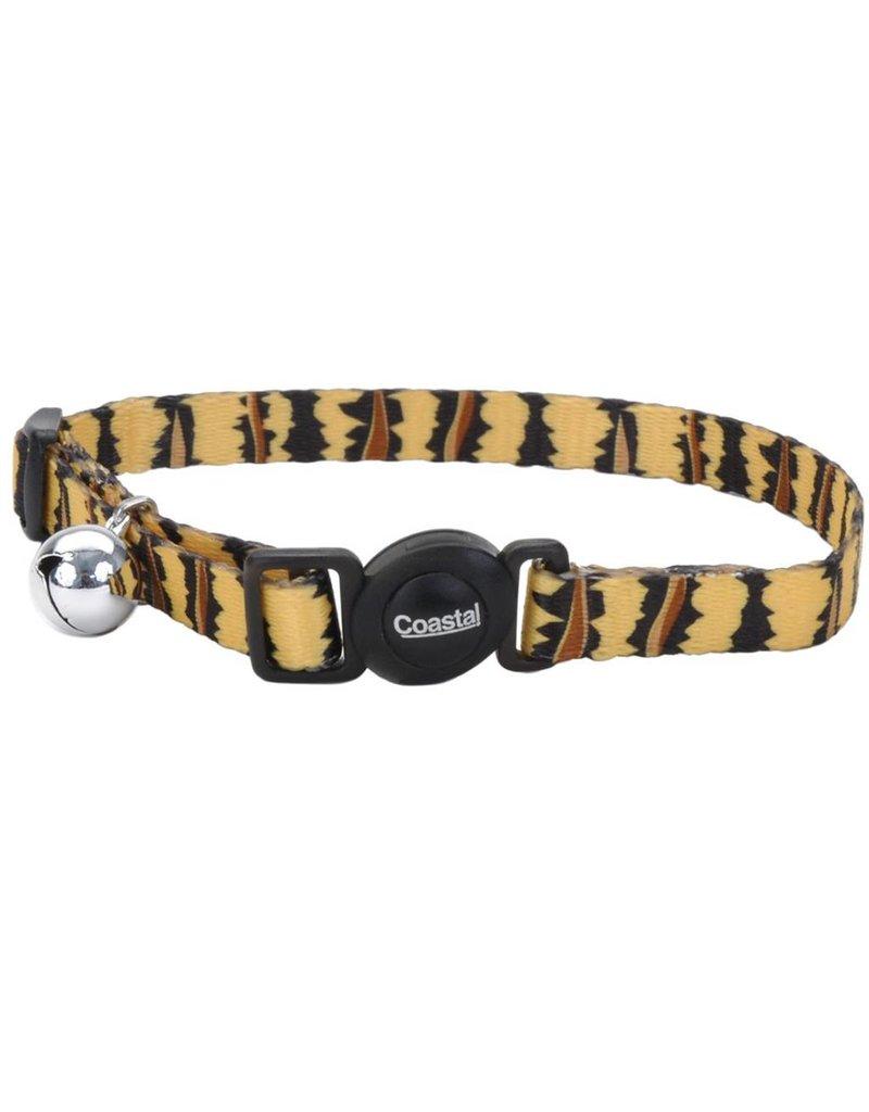 """Coastal Cat Collar Tiger 3/8""""W 12""""L"""