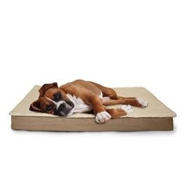 FurHaven Deluxe Indoor/Outdoor Convertible Bed - Small - Sand