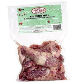 Primal Frozen Raw Chicken Necks 6pk