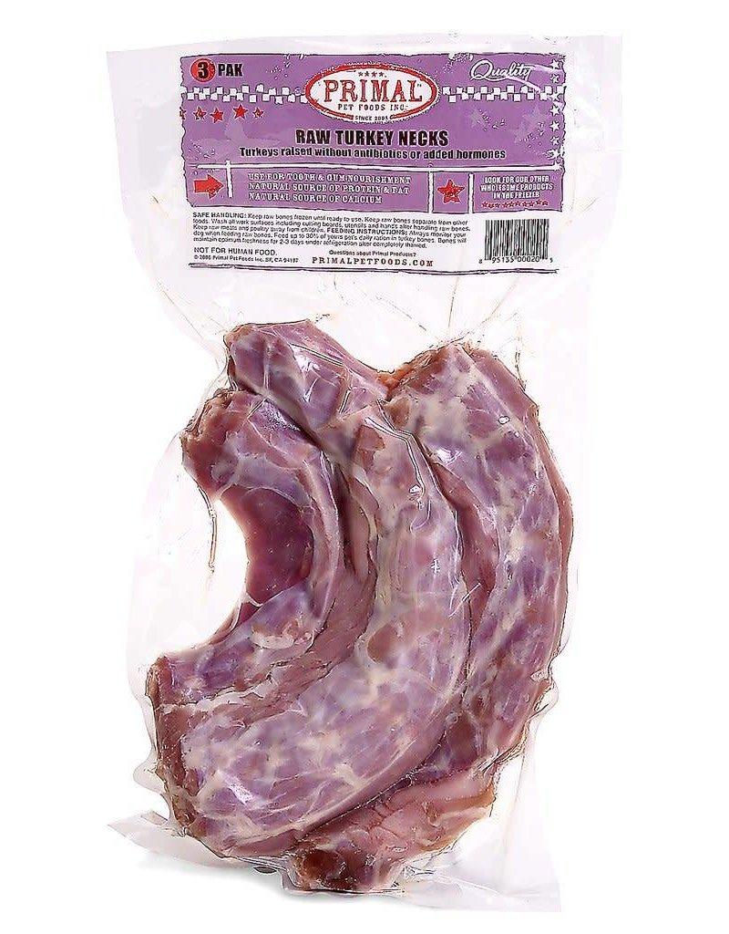 Primal Frozen Raw Turkey Necks 3pk