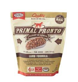 Primal Canine Frozen Raw Pronto Lamb 4lb